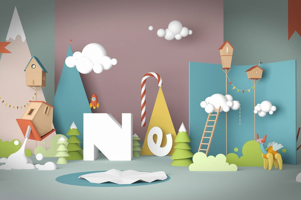 backdrop styrofoam dekorasi ultah