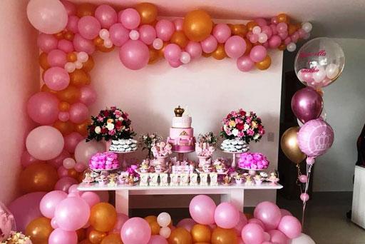 dekorasi balon ultah anak perempuan