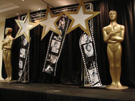 dekorasi styrofoam tema hollywood