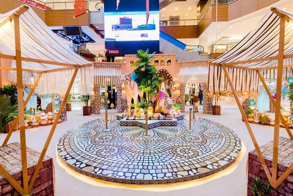 Jual dekorasi ramadhan hotel dan mall