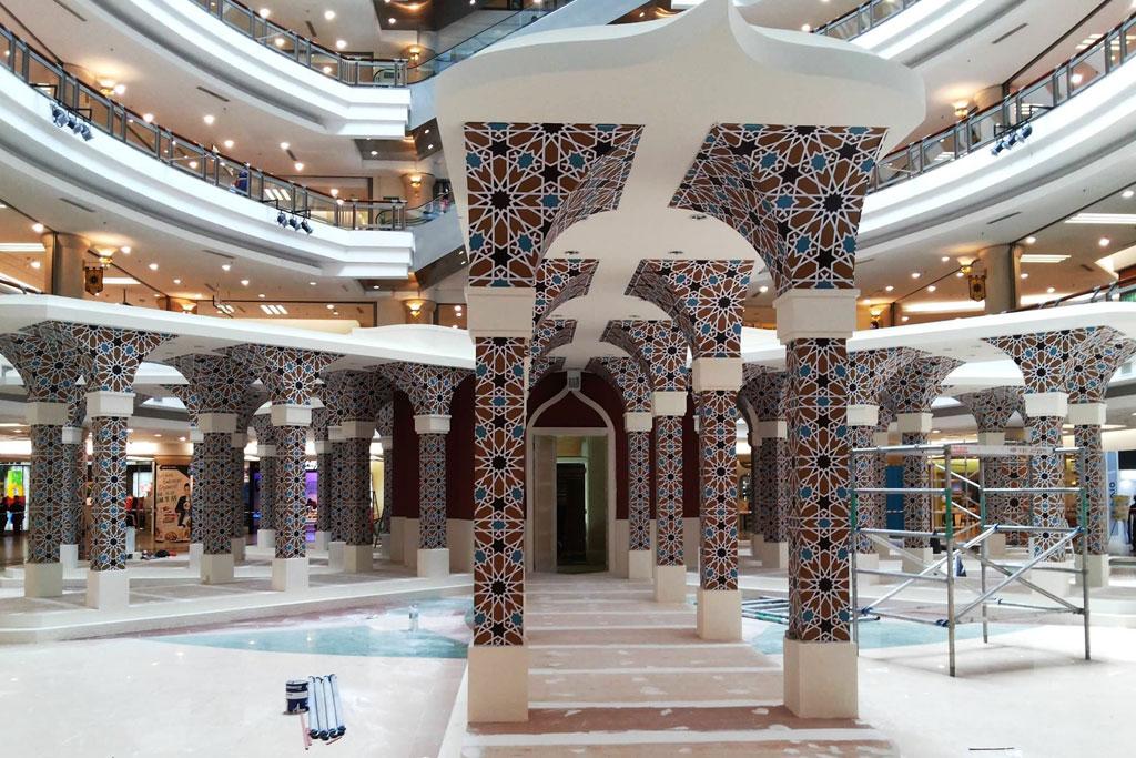 contoh dekorasi ramadhan