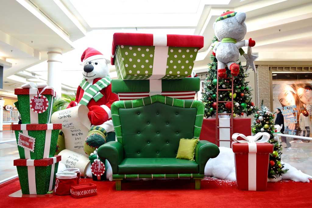 dekorasi Photobooth tema natal