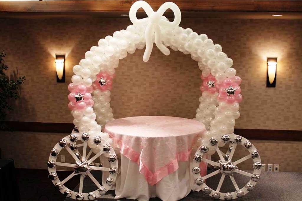 dekorasi balon untuk pernikahan