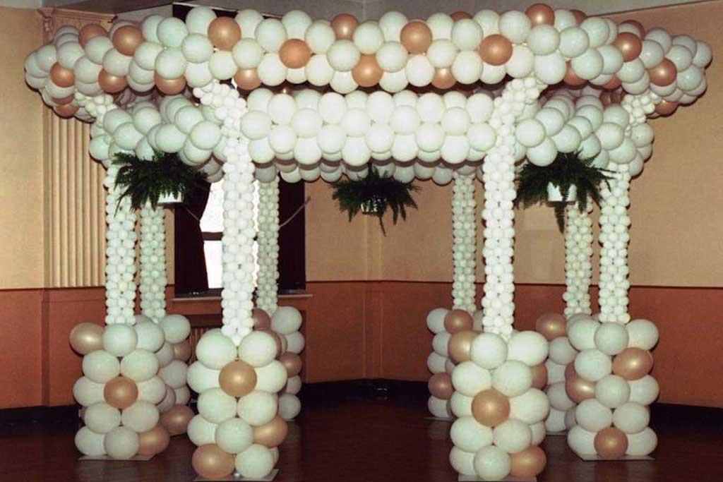 dekorasi balon untuk wedding