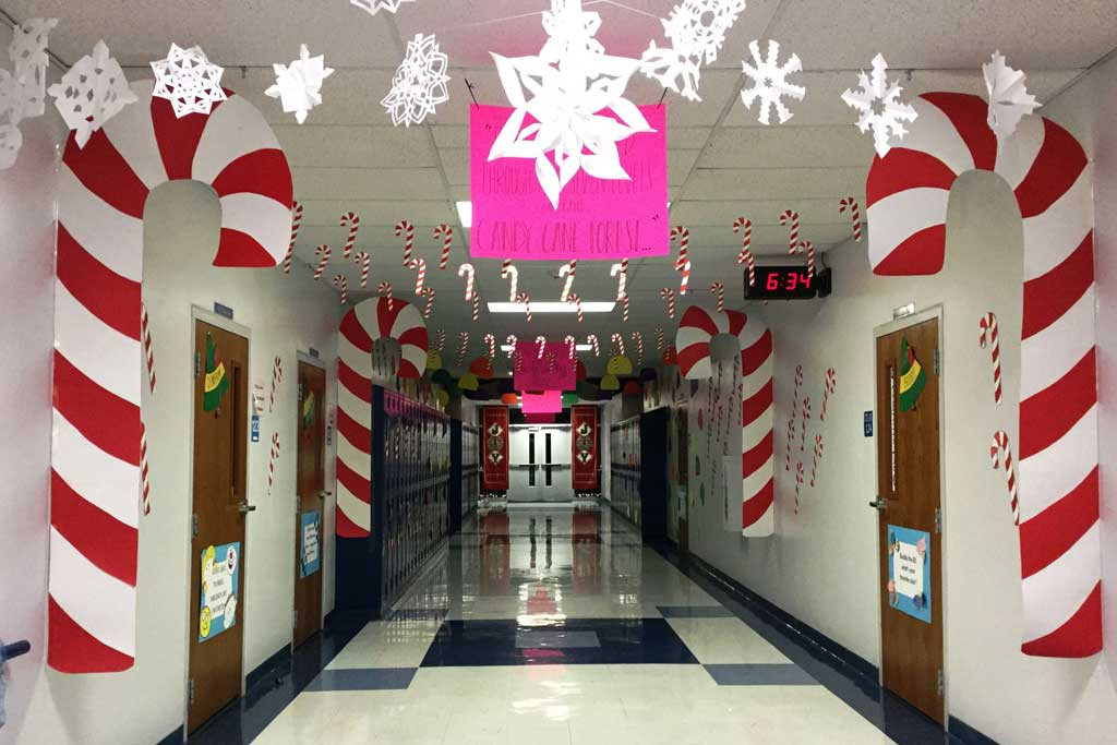 dekorasi natal di kantor