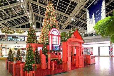 dekorasi natal di mall cover