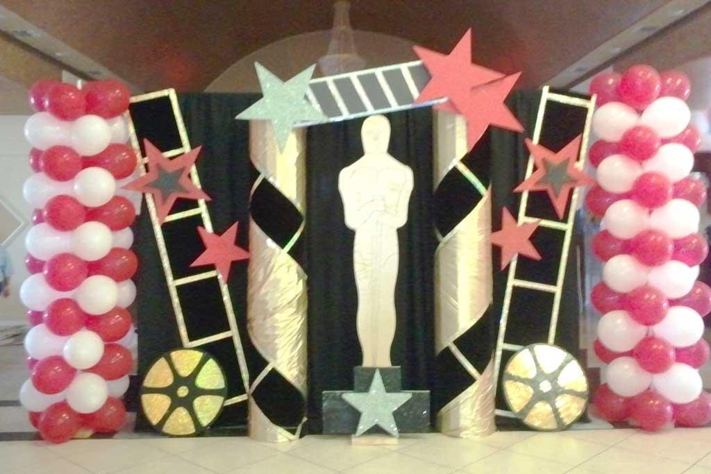 dekorasi ulang tahun dewasa tema hollywood
