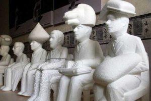 Jasa pembuatan Patung Styrofoam dan fiber harga Murah