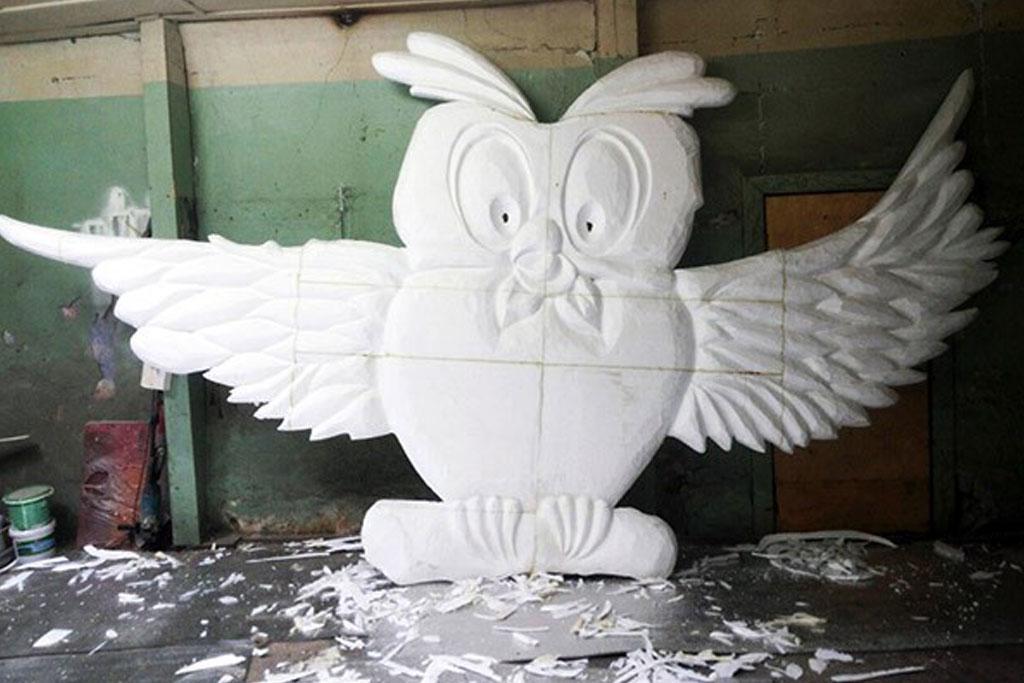 jual patung styrofoam murah