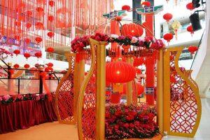 jasa dekorasi imlek di mall, hotel, cafe murah