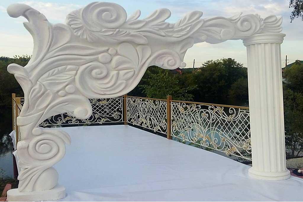 properti dekorasi photobooth pernikahan styrofoam