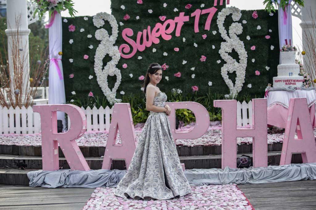 paket sweet seventeen murah