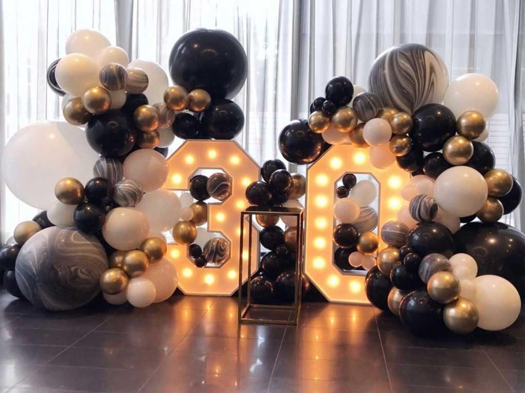 Jasa dekorasi balon ulang tahun anak remaja dan dewasa harga murah 18