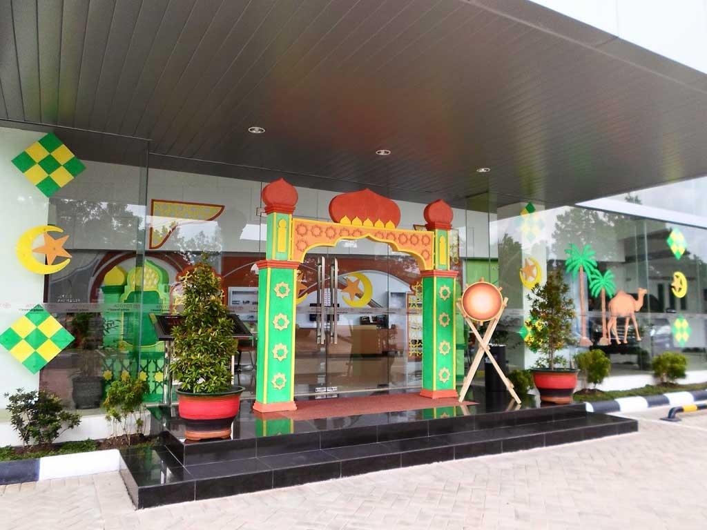 Jasa Dekorasi Ramadhan di mall hasil terbaik bahan styrofoam