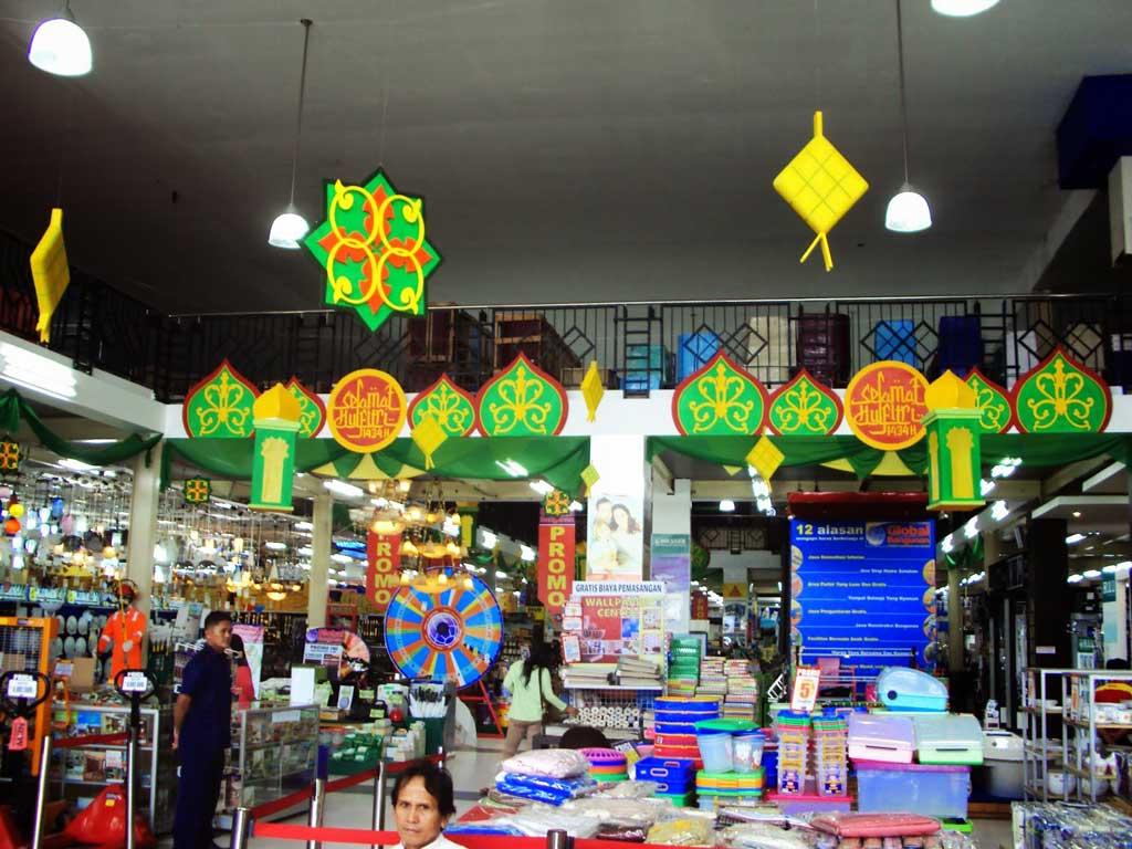 Jasa Dekorasi Ramadhan di toko hasil terbaik styrofoam
