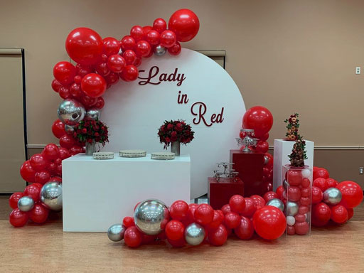 contoh dekorasi balon ulang tahun