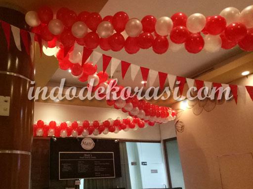dekorasi balon 17 agustus