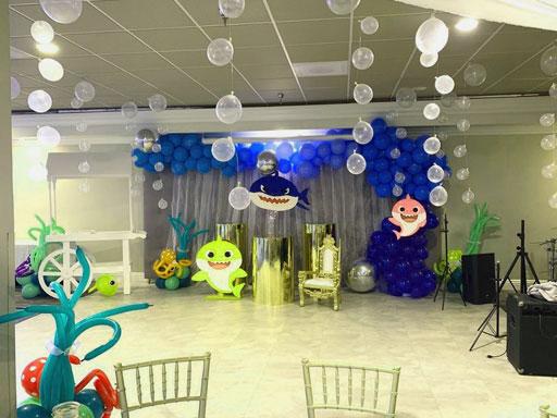 dekorasi balon ulang tahun anak laki laki
