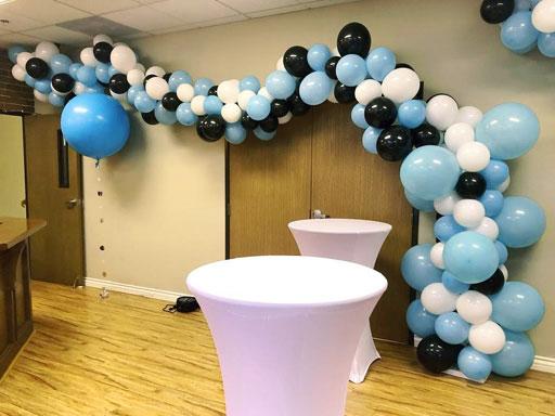 dekorasi balon ulang tahun kantor