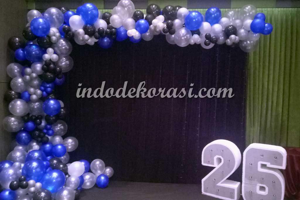 dekorasi ulang tahun dewasa dengan balon