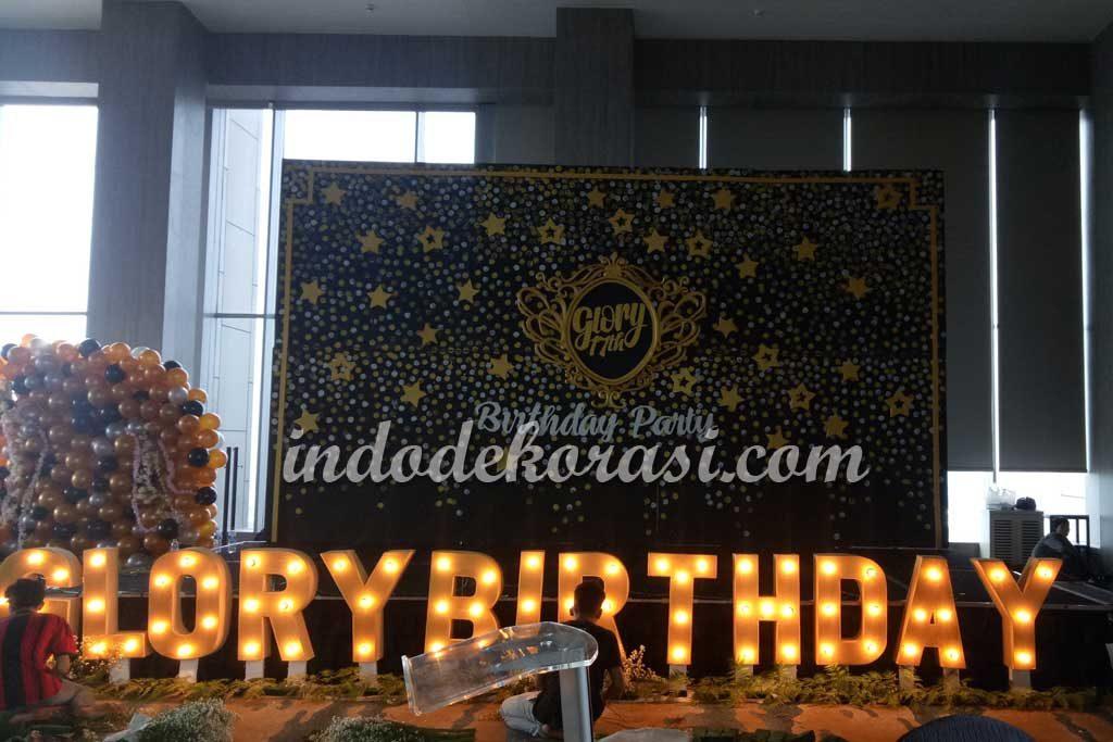 dekorasi ulang tahun remaja perempuan kekinian