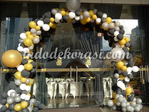 foto dekorasi balon jakarta gate