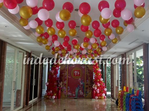 foto dekorasi balon sederhana
