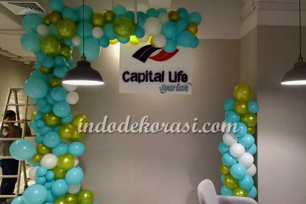harga dekorasi ulang tahun perusahaan dengan balon