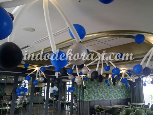 jual dekorasi balon restoran cafe