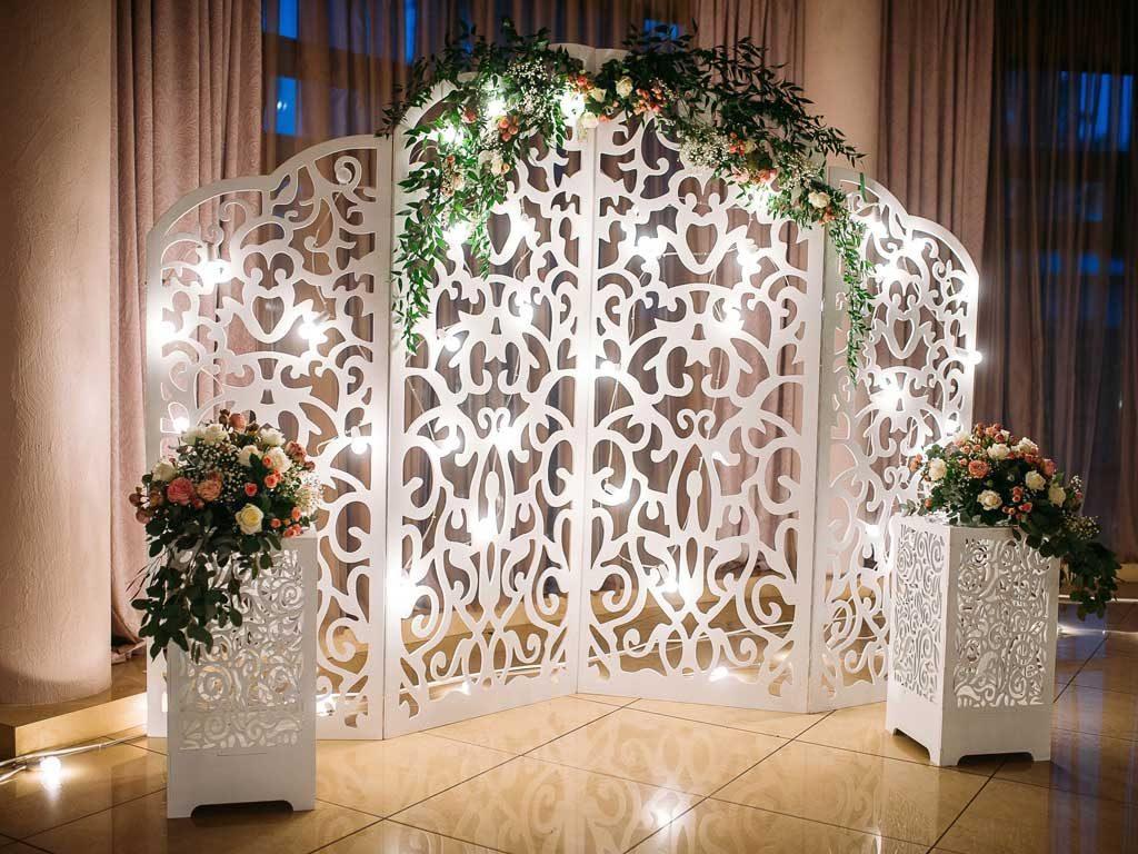 ukiran styrofoam untuk photobooth wedding pelaminan
