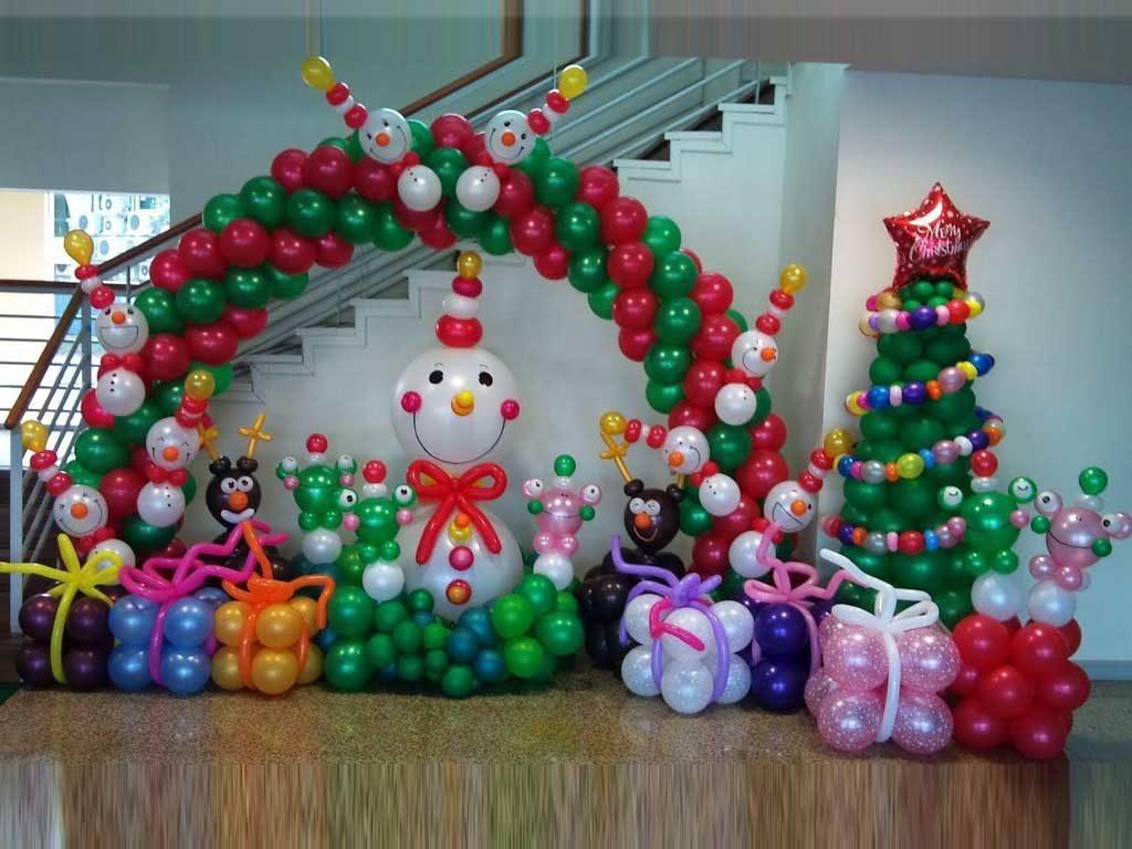 Paket Dekorasi Balon Natal Dan Tahun Baru Termurah
